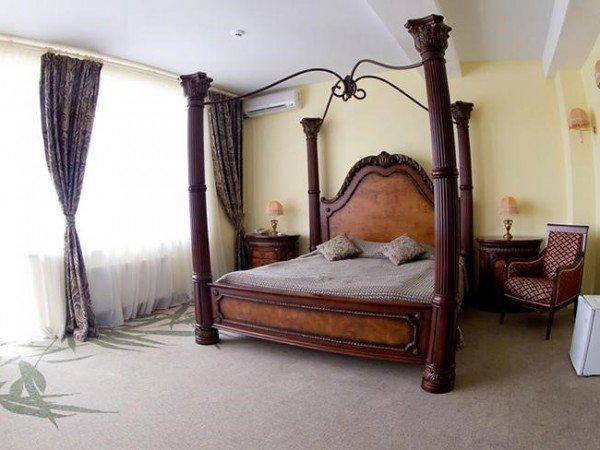 Панорамный люкс с джакузи. Площадь 52 кв.м.