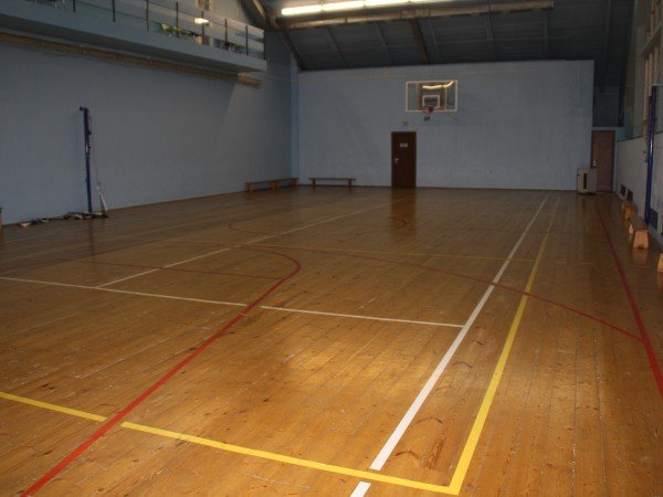 Зал спортивного комплекса