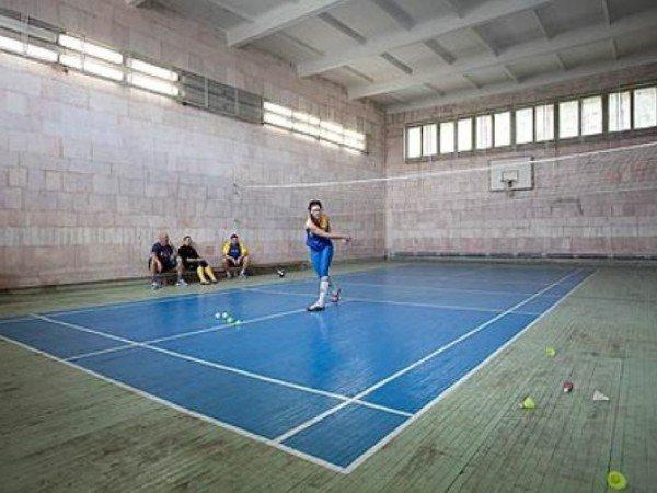 Площадки для волейбола и бадминтона