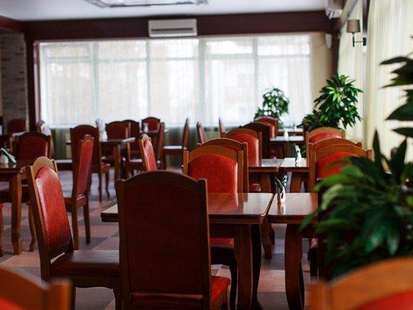 Ресторан шведской линии
