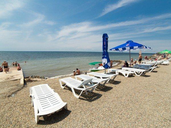 Собственный пляжный комплекс