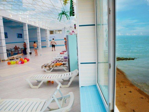 Закрытый комплекс «Зимний пляж»