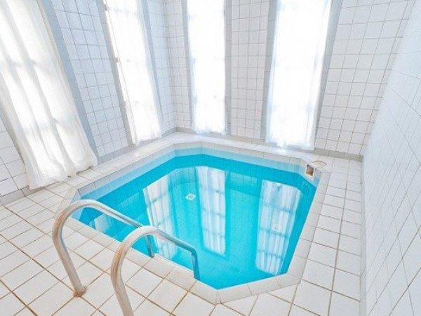 Сауна с мини-бассейном