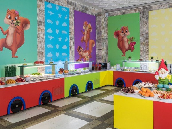 Детский зал ресторана «Biarritz»