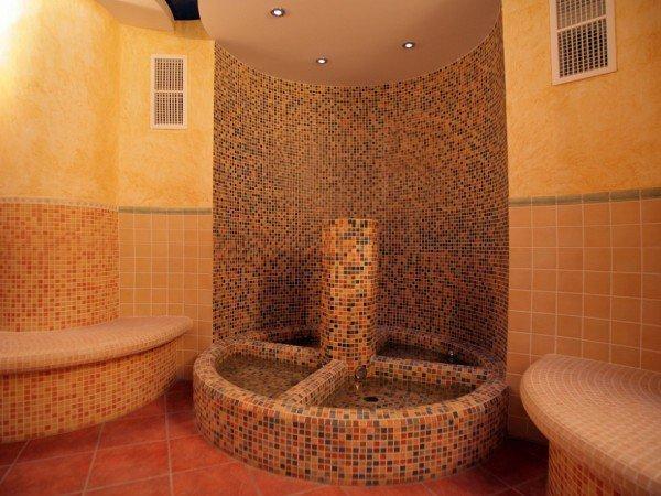 Римская баня «Тепидариум»