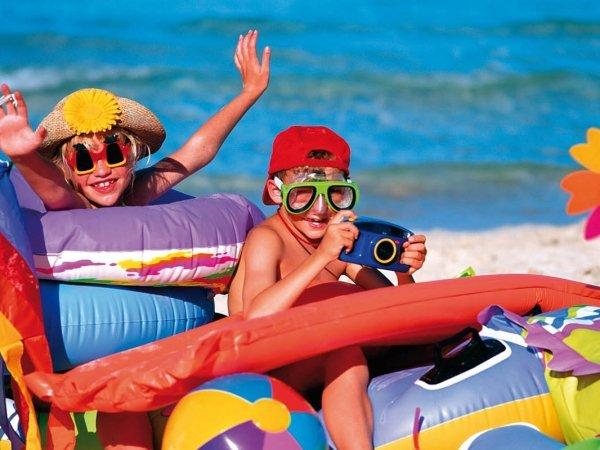 Детские праздники и дни рождения в отеле Абхазии