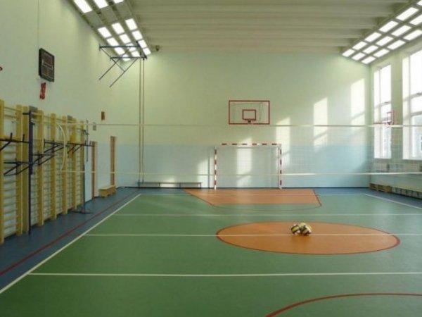 Спортивный зал в ФОК