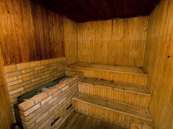 Термокомната в сауне