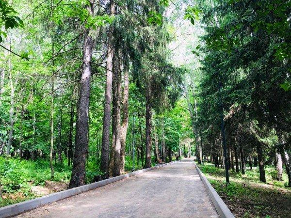 Старинный парк