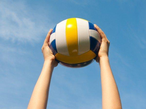 Площадка для волейбола