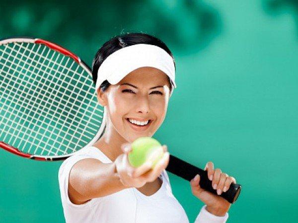 Большой теннис в спортзале