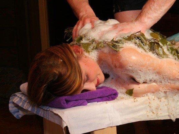Старорусский веничный массаж