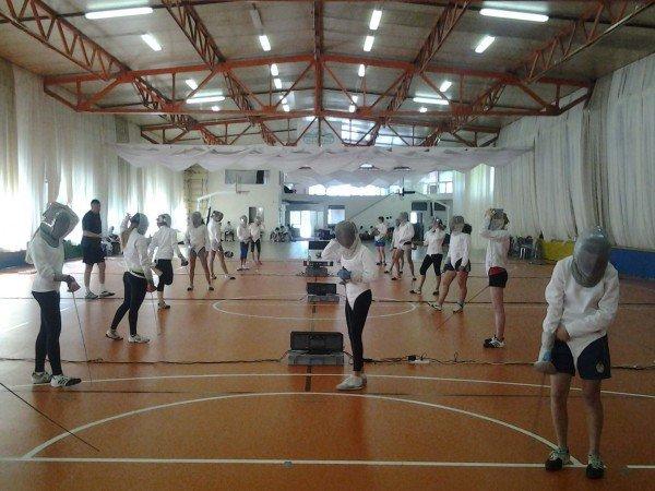 Спортивный зал «Ролл-холл»