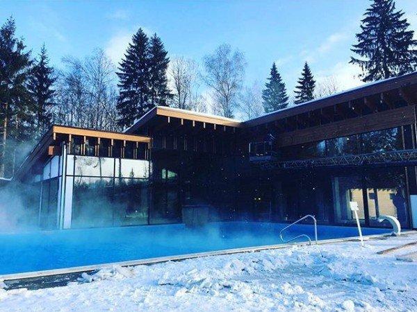 Открытый всесезонный комплекс с бассейном