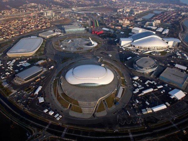 Олимпийский и Сочи парки