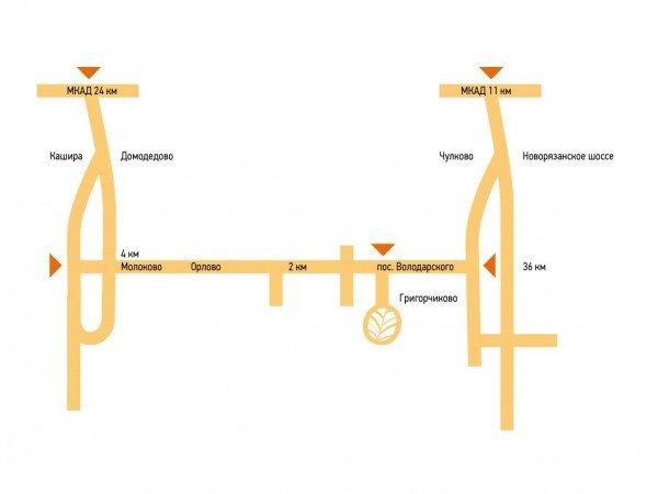 Схема проезда к отелю «Valesko Hotel Spa»