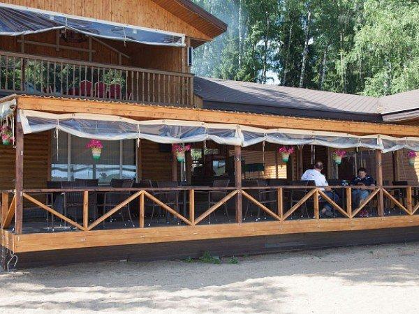 Ресторан «Гриль`яж» на пляже