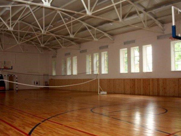 Площадки и зал для баскетбола и волейбола