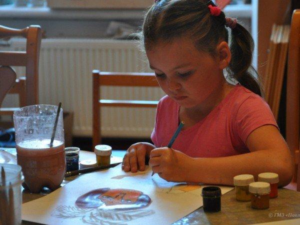 Занятия по детскому творчеству