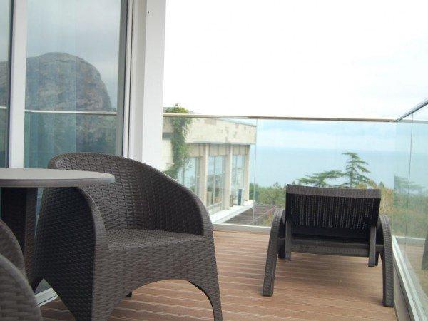 Люкс с видом на море