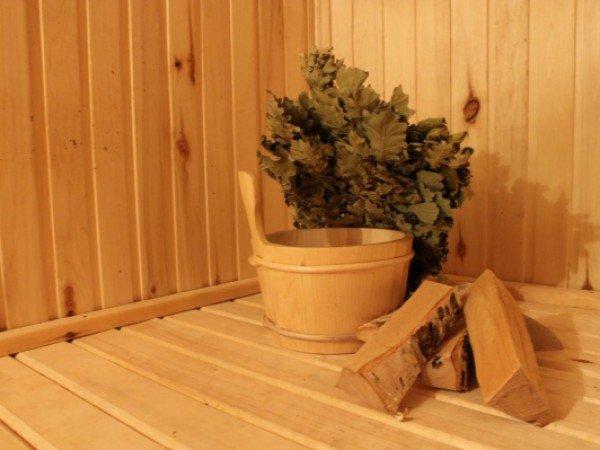 Сауна на дровах