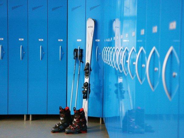Комната для хранения лыжного инвентаря