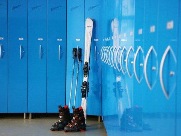 Комната для хранения лыжного снаряжения