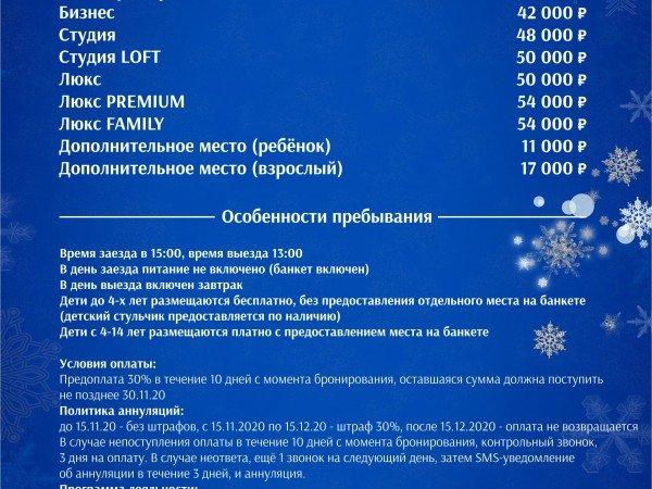 НОВЫЙ ГОД 2021 (31.12.2020 - 02.01.2021)
