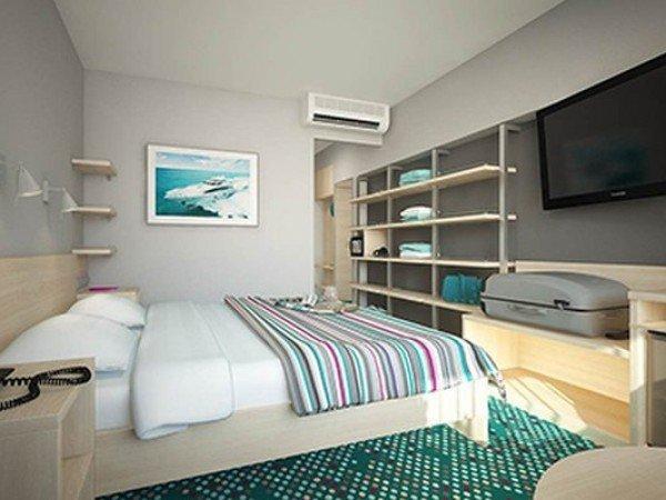 Стандартный улучшенный 2-местный с одной двуспальной кроватью