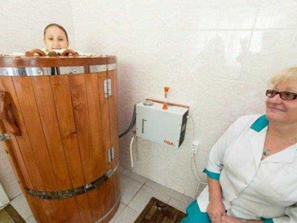 Сауна-мини Кедровая бочка