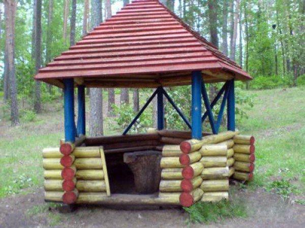 Площадка для шашлыков