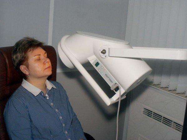 Криотерапия и лампа «Биоптрон»