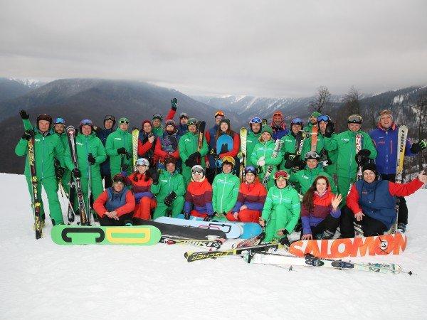 Школа горнолыжного катания