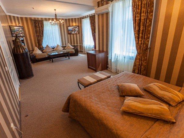 3-местный 2-комнатный Люкс Double «Анкара»