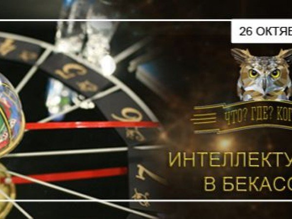 Интеллектуариум в Бекасово (26.10 - 01.11)