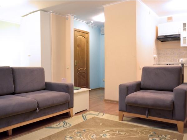 СТУДИЯ 2-местный 1-комнатный номер Студия twin/double с кухней (к. №4,5)