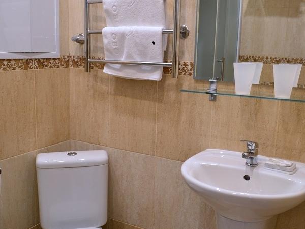 ЛЮКС Дуплекс 4-местный 3-комнатный двухуровневый номер Дуплекс twin/double (к. №6)