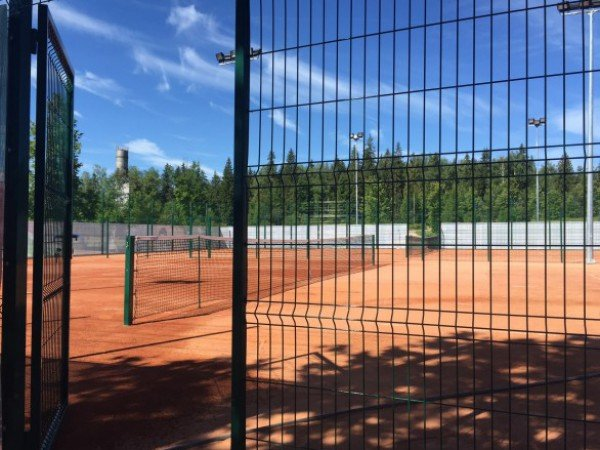 Зал для большого тенниса