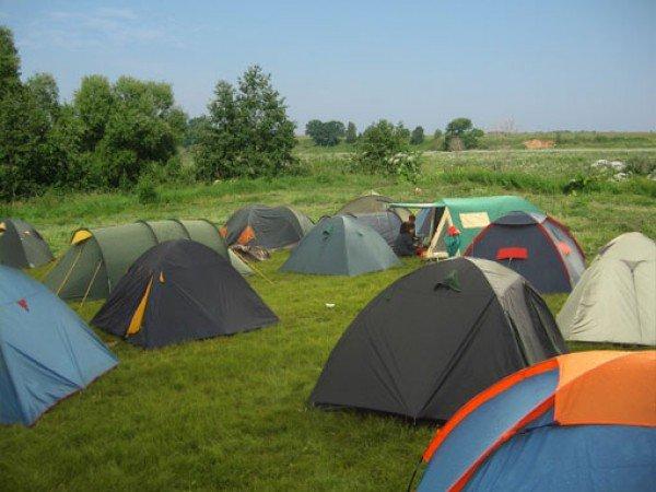 Площадка для палаточного городка