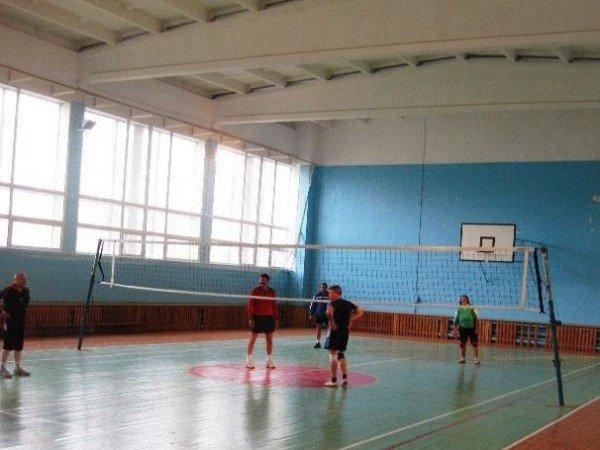 Волейбольная и бадминтонная площадки