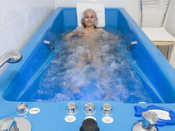 Аэрогидромассажные ванны