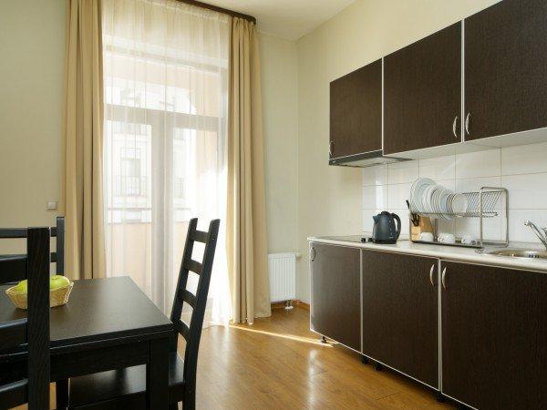 2-х комнатные апартаменты с отдельной кухней