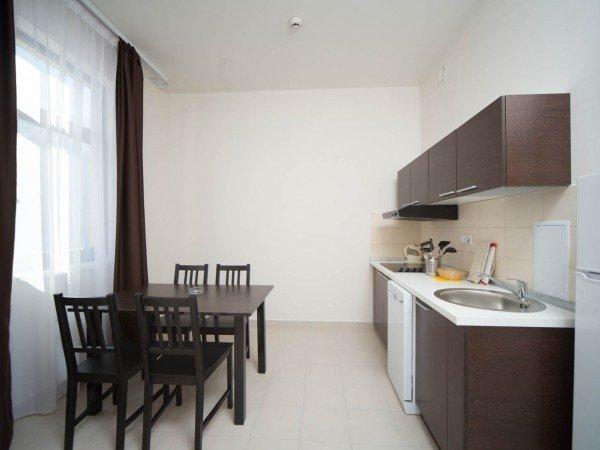 Апартаменты c отдельной кухней
