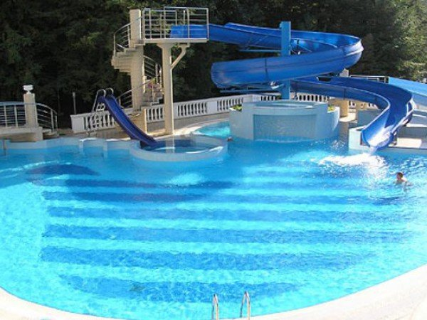 Аквапарки с пресной водой