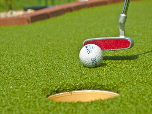 Поле для игры Мини-гольф