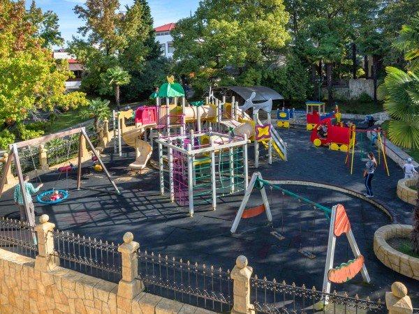Открытые детские площадки
