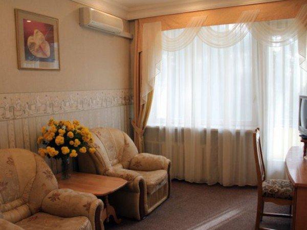 Люкс 2-местный 2-комнатный, корп. 1