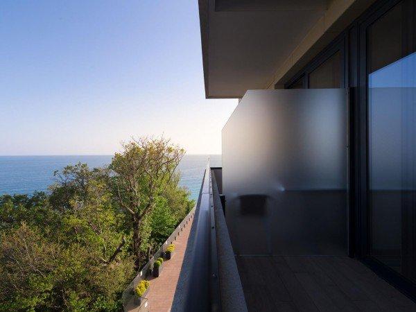 TWIN S двухместный стандартный (с балконом), с видом на море