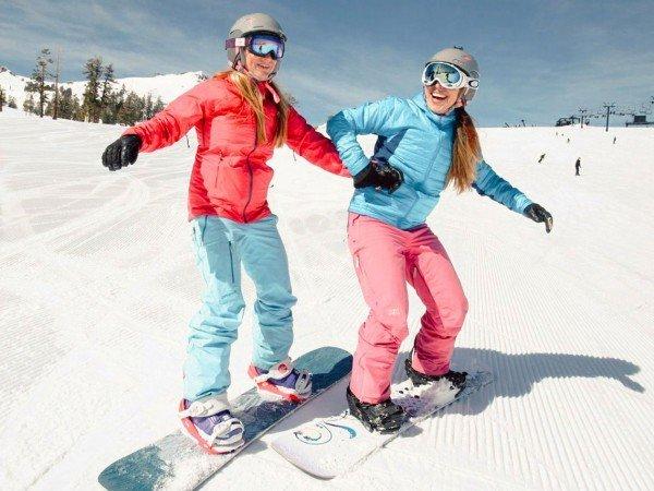 Обучение катанию на лыжах и сноуборде