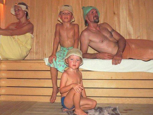 Финская сауна